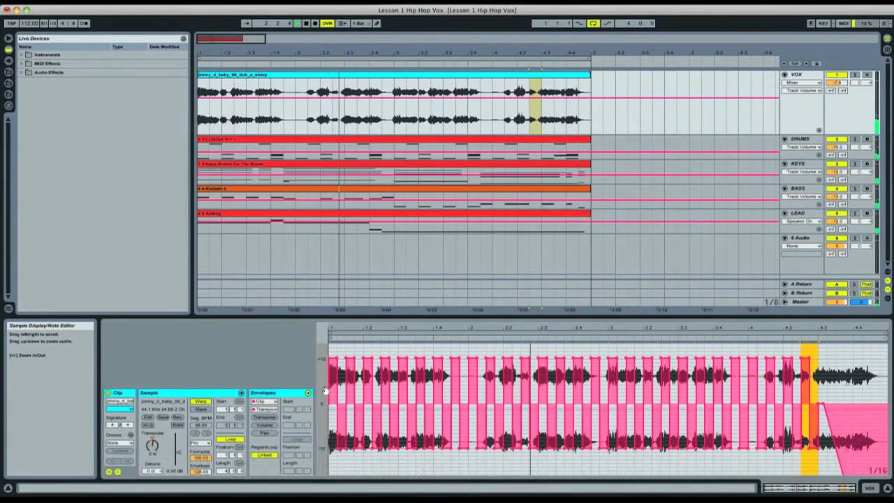 Ableton: How to Manipulate Vocal Samples