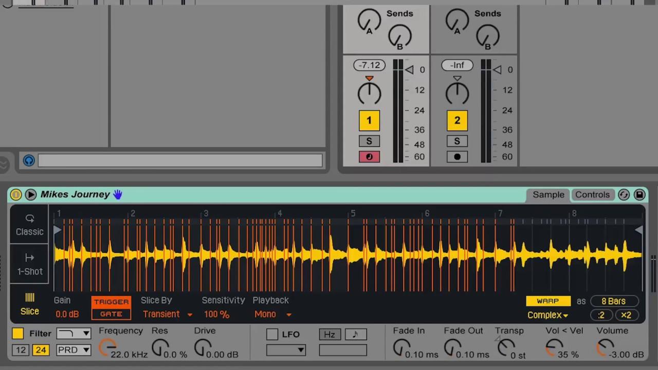 Ableton: Using Reslicing as a Creative Sampling Tool