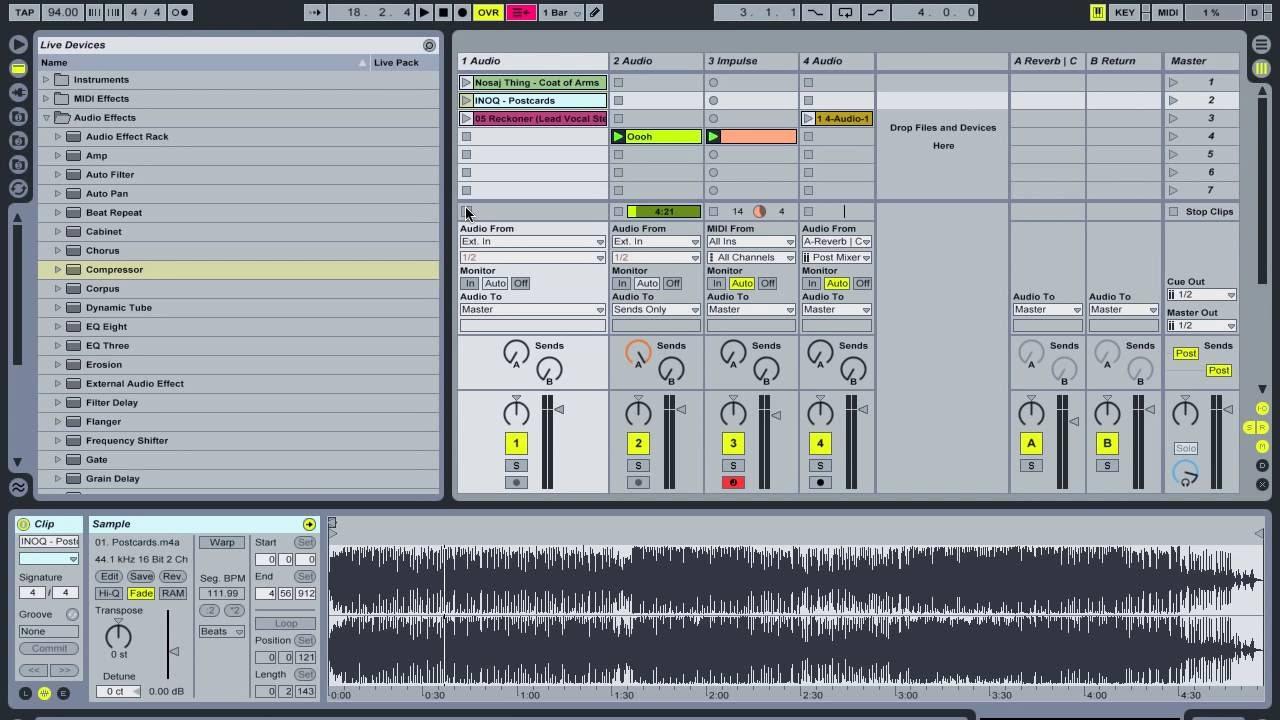Ableton: Vocal Effect Techniques