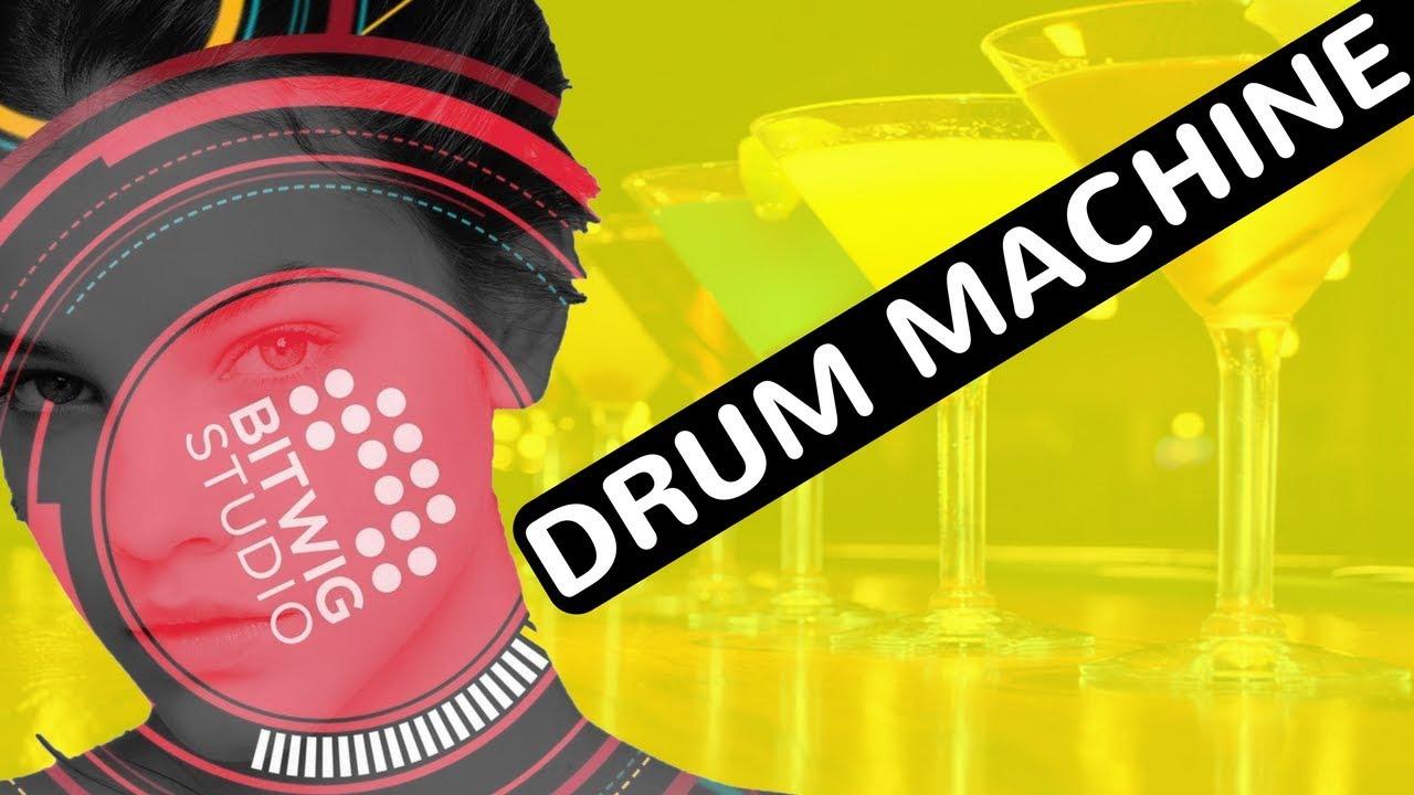 Bitwig Studio 2 Drum Machine