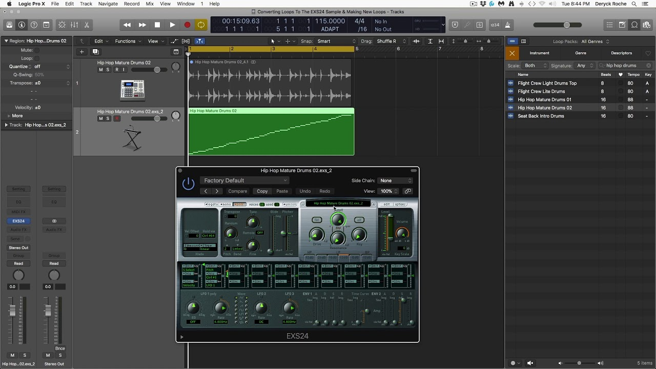 Logic: Chop and Reinvent Loops in the EXS 24