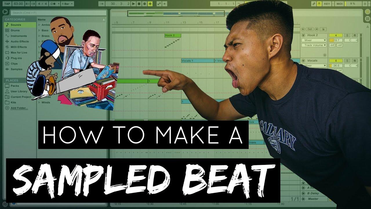 Sampling: The Best way to make a Sampled hip hop beat