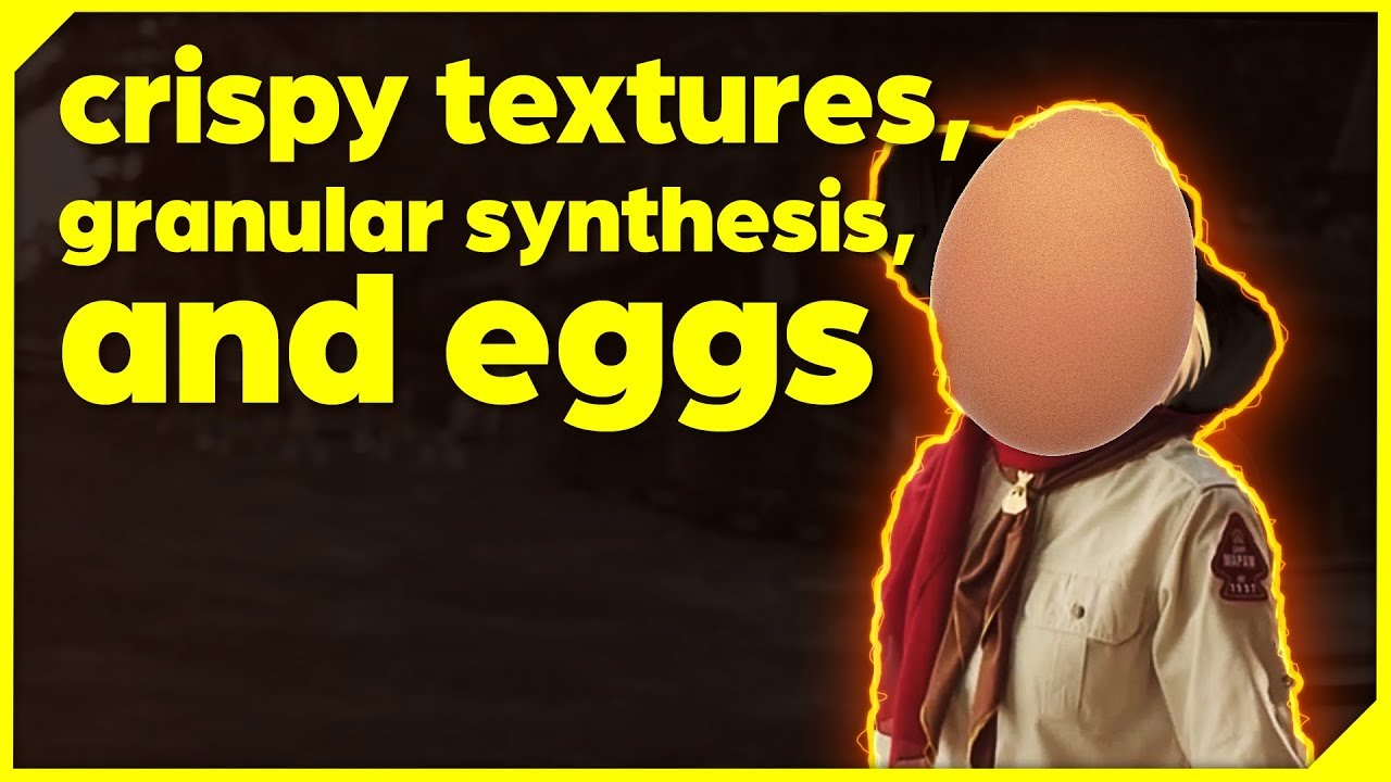 Making Crispy Textures with Granular Synthesis and WangleLine